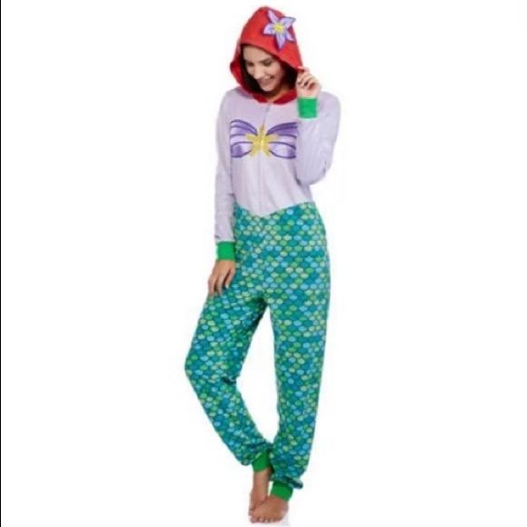 1bb0f00ced4 Disney Other - Disney Fleece The Little Mermaid Ariel Pajamas